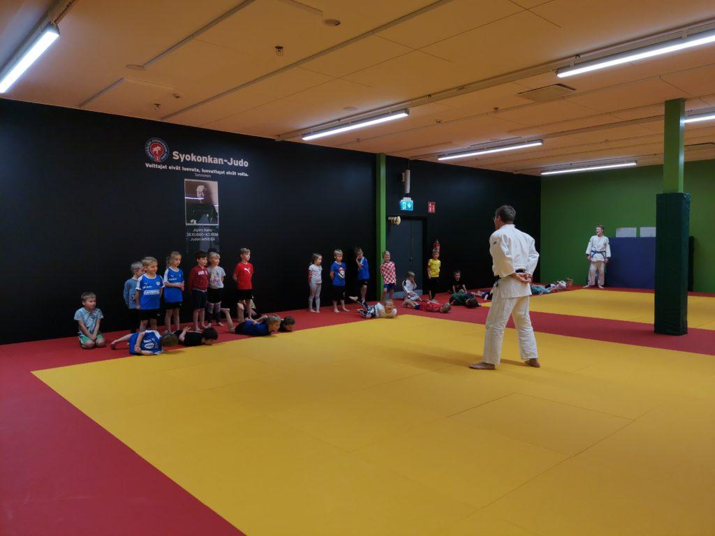 LeKi-futis judo-oheisharjoittelu